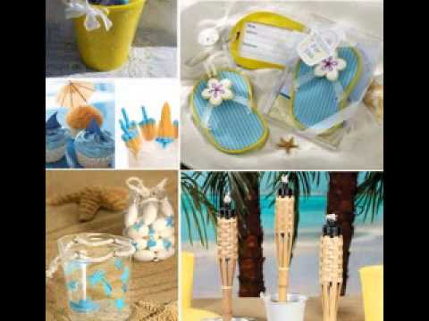 diy beach party decorating ideas youtube