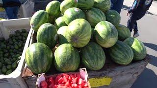 Январь в Калифорнии - что у нас на фруктовых-овощных раскладках и почем?