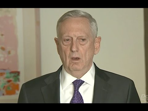 """Defense Secretary Won't Release Damage Estimate From """"Mother Of All Bombs"""" - Full News Conference"""