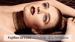 Fujifilm GFX50S Workshop BTS - Timelapse