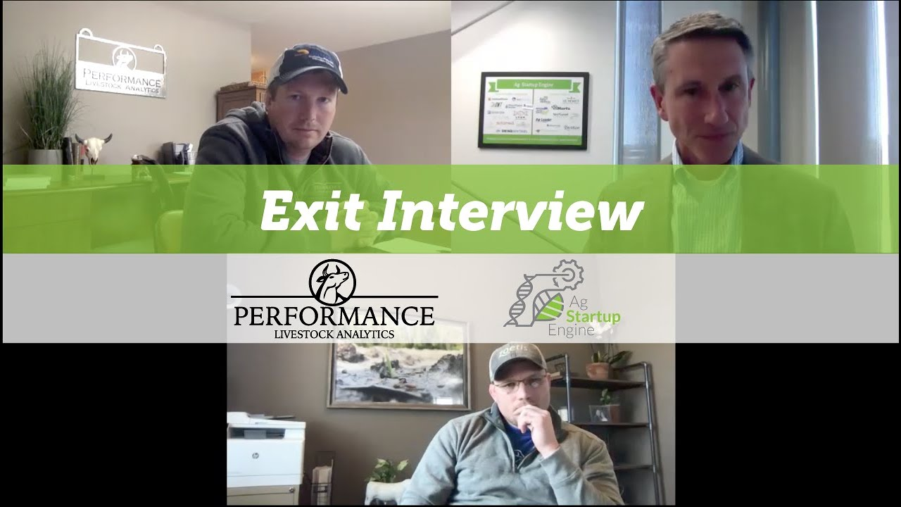 Exit: Dane Kuper and Dustin Balsley of Performance Livestock Analytics