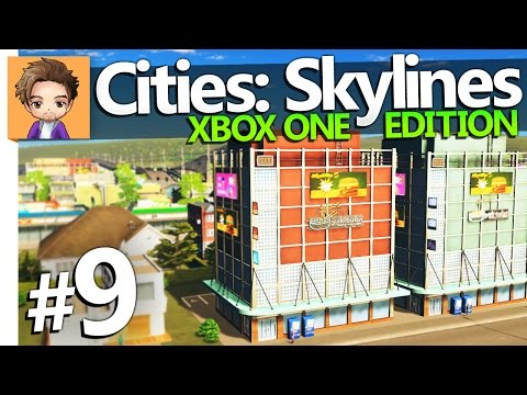 Cities: Skylines Xbox One Edition | PART 9 | HIGH DENSITY
