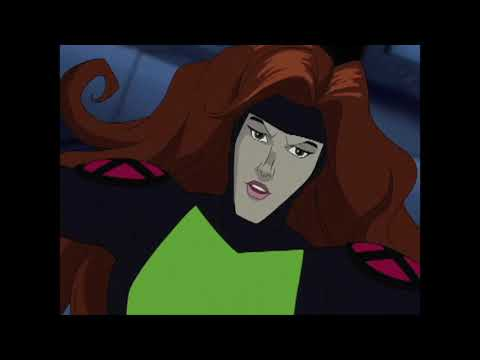 X-Men Evolution Female Action Scenes Part 11