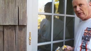 Masking Door/Window Glass The Fast Way