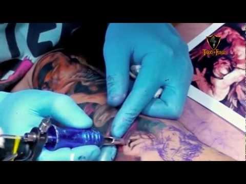 Tattoo de Fuego HD - Pedro Acosta - San Miguel Arcangel (Realismo-Religioso)