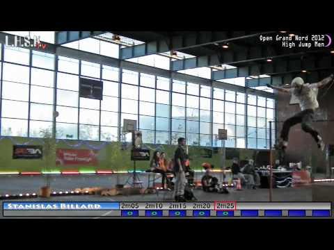 High Jump Men part.2  Open Grand Nord 2012 @ Argenteuil