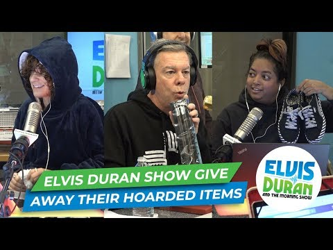 Elvis Duran - Elvis Duran Show Members Give Away Their Hoarded Items