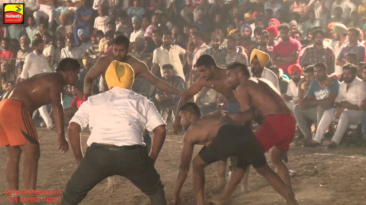 DHIANPUR (Ropar) !! KABADDI CUP - 2015 !! Final !! Full HD !!