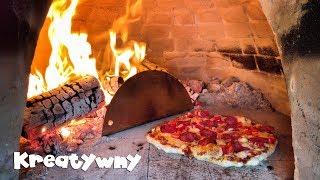 Wypiek Pizzy W Piecu Opalanym Drewnem :) / Pizza In My Wood Fired Oven #17