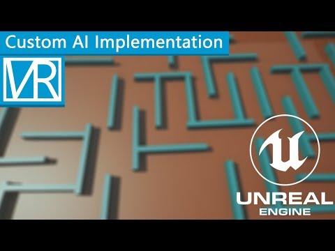 Blueprint AI System - Unreal Engine 4 - Victor D. Goossens