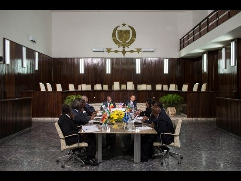 President Obama Meets with Judicial Leaders in Senegal