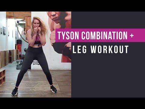 Mike Tyson Boxing Combinations Tutorial + Bonus Leg Workout! (Boxing Combo Training Workouts) thumbnail