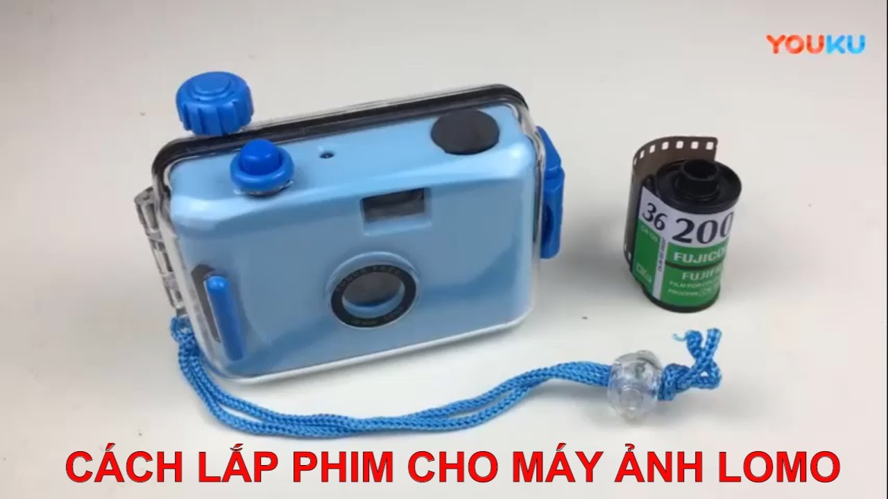 Cách lắp film và sử dụng máy ảnh Lomo Underwater – Chụp ảnh dưới nước –  cách sử dụng máy ảnh lomo