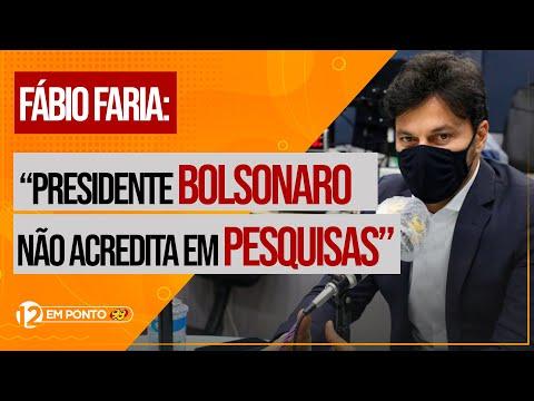 """Fábio Faria: """"Presidente Bolsonaro não acredita em pesquisas"""""""