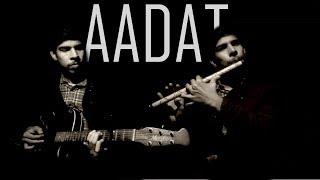 Aadat | Flute cover |  Aditya Nath Tiwari