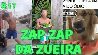 VIDEOS DO ZAP ZAP #17 - TENTE NÃO RIR - AGOSTO/2019