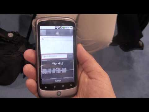 Hands-on with HTC Nexus One