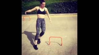 Daisy Ridley training 2016 for  Star Wars: Episode VIII thumbnail