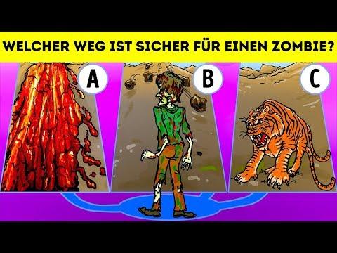 EIN KURZES QUIZ FÜR DEINEN IQ 🤓 20 SCHWIERIGE RÄTSEL MIT ANTWORTEN