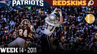 Gronkowski's Record-Breaking Day! (Patriots vs. Redskins, 2011) | NFL Vault Highlights