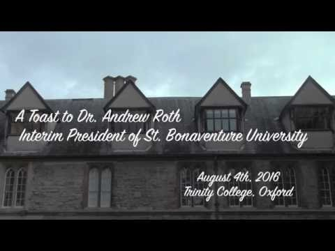 A Toast to Dr. Andrew Roth