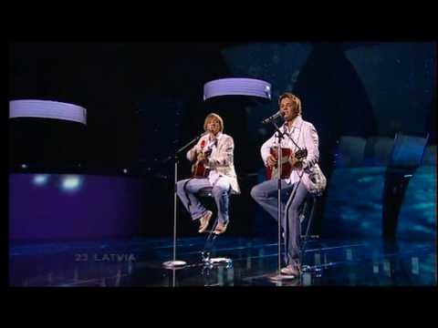 Eurovision 2005 Final 23 Latvia *Walters & Kazha* *The War Is Not Over* 16:9 HQ
