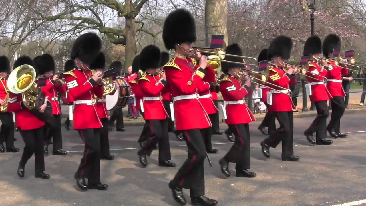 Changing the Guard: Band of the Grenadier Guards, April 8, 2015