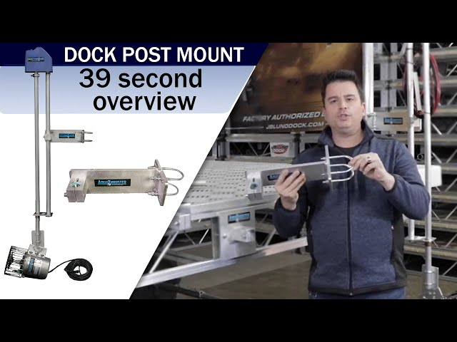 Aqua Thruster Portable Dock Post Mount Video Overview | Weeders Digest