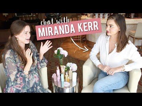 CHATTING WITH MIRANDA KERR  Beauty, Business & Motherhood