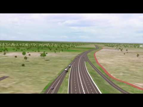 NorthLink WA 3D fly through animation — Northern Section, Ellenbrook to Muchea