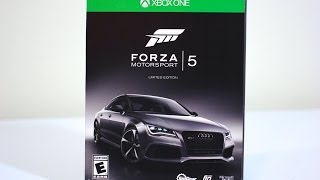 Forza 5 Limited Edition Unboxing (Xbox One)