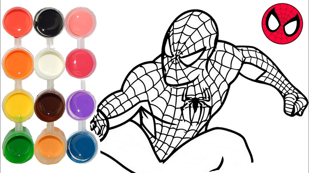 How To Draw Color Spiderman Homecoming