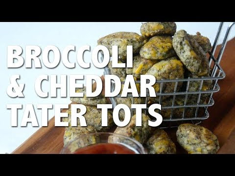 Vegan Broccoli & Cheese Tater Tots | Plant-Based City Living