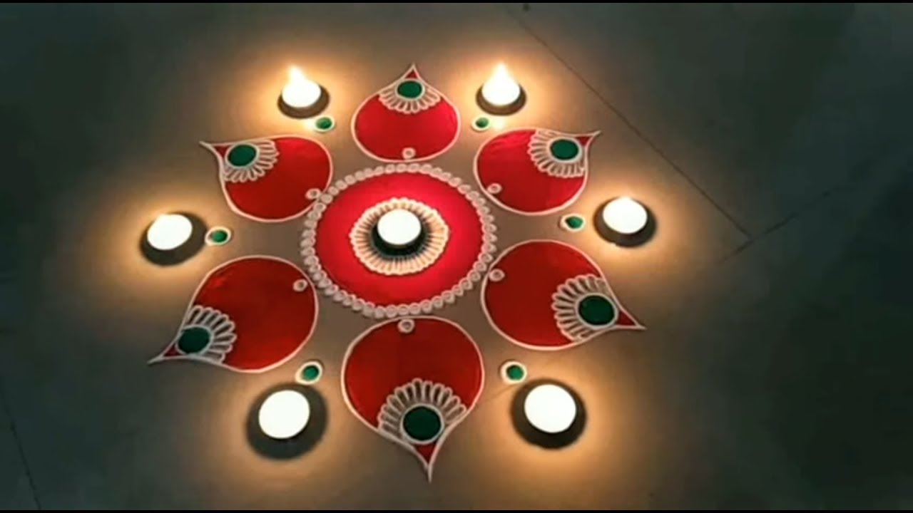 Image result for Easy and beautiful rangoli DipaS Art
