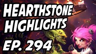 Hearthstone Daily Highlights | Ep. 294 | Sjow, Firebat, Savjz, bunnyman1400, DisguisedToastHS