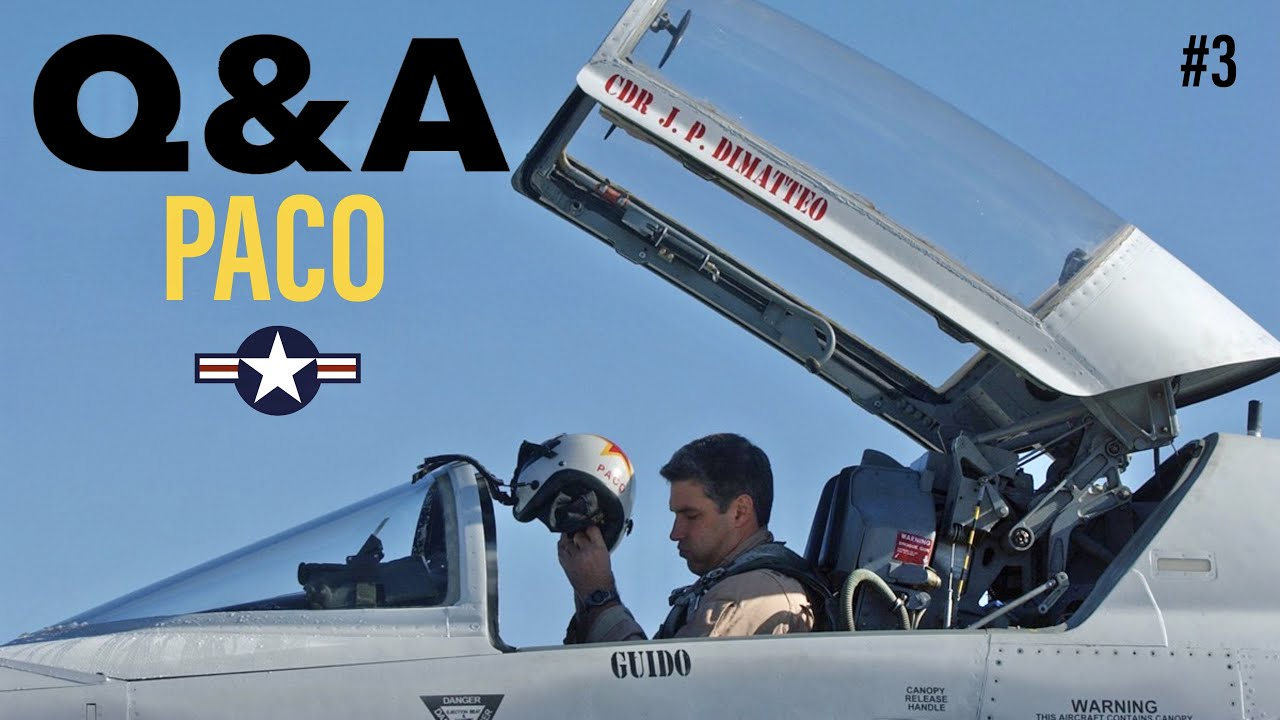 Q&A with Former USN Fighter Pilot | Paco Chierici #3