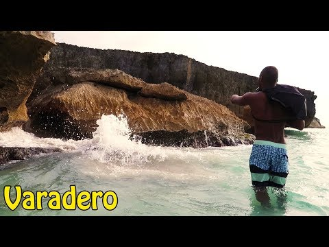SECRET CAVE ON VARADERO BEACH!!! (CUBA VLOG)