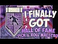NBA 2K19   HOW TO GET PICK AND ROLL MAESTRO HALL OF FAME IN 1 GAME!