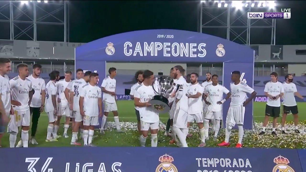 Download Real Madrid's FULL LaLiga 19/20 trophy presentation | LaLiga 19/20 Moments