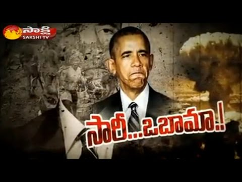 President Obama visits Hiroshima, speaks out against nuclear weapons || Sakshi Magazine Story