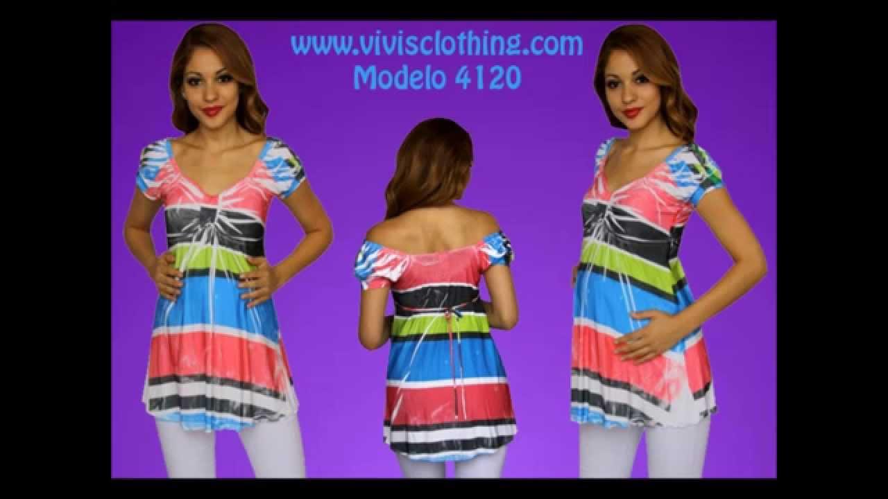 Ropa de maternidad VIVIS CLOTHING nueva vida - YouTube