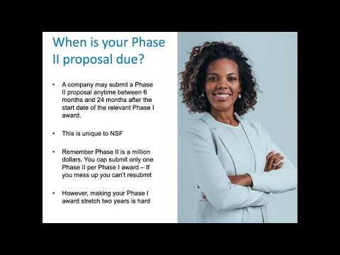 Developing a Phase II Commercialization Plan