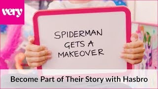 Spiderman gets a makeover    Very Toys