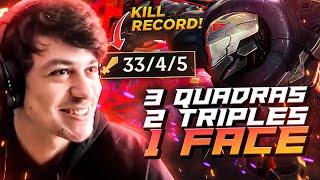 LL STYLISH | 3 QUADRA KILLS, 2 TRIPLES, 1 FACE! NEW KILL RECORD BROKEN!
