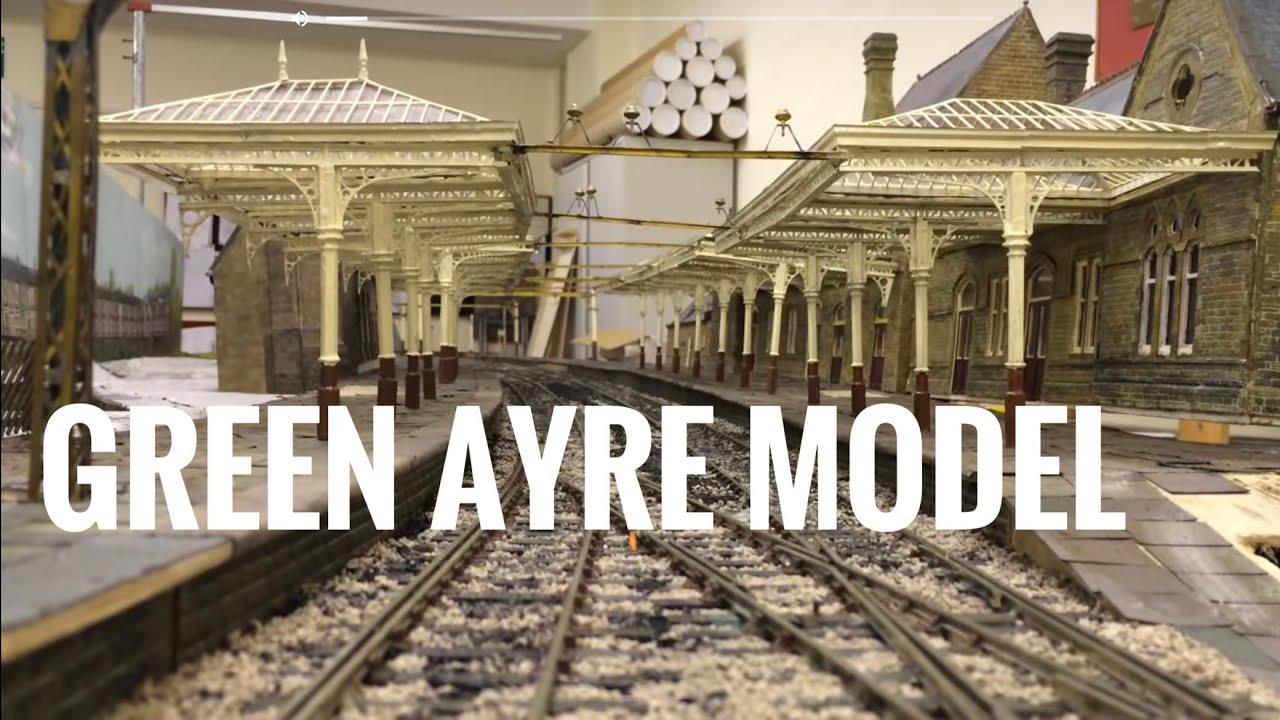 Lancaster Green Ayre Model Railway Layout Youtube