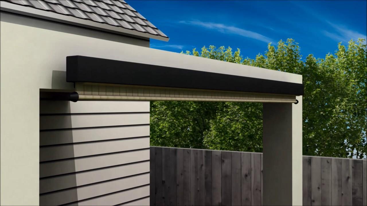 Coolaroo Full Valance Installation Wall Mount Youtube