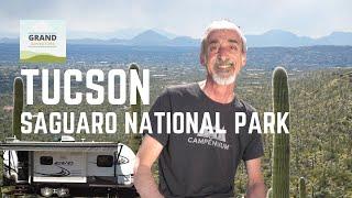 Ep. 145: Tucson & Saguaro National Park | Arizona RV travel camping