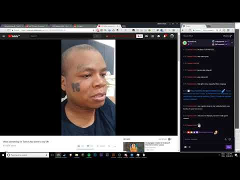 I React To A Guy Ruining His Life By Steaming On Twitch