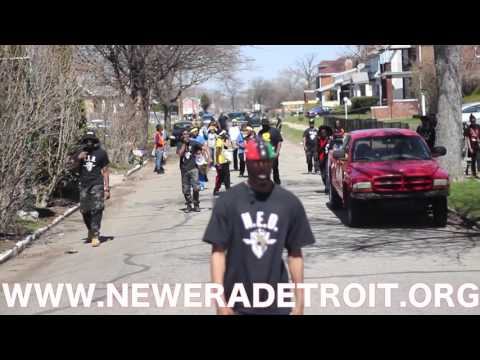 New Era Detroit Event 4-16-16  HOOD TO HOOD MOVEMENT - Black Power RBG
