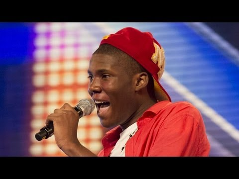 Sheyi Omatayo's audition - Louis Armstrong's Wonderful World - The X Factor UK 2012